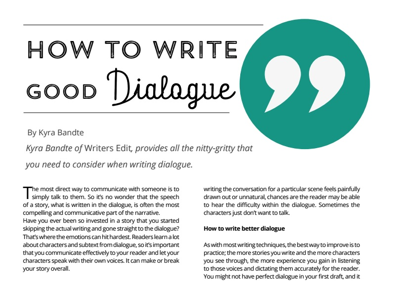 dialogue article